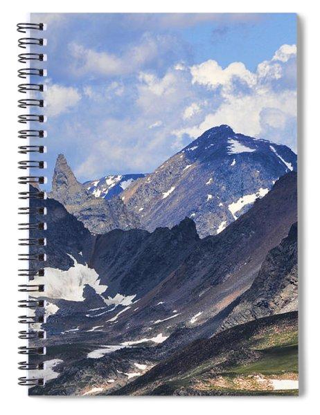 Beartooth Mountain Spiral Notebook