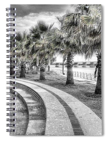 Beaufort Sc Water Front Park Spiral Notebook