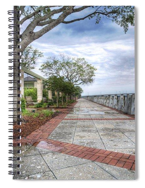 Beaufort - Sea Wall Spiral Notebook