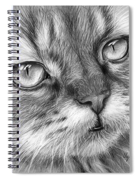 Beautiful Cat Spiral Notebook