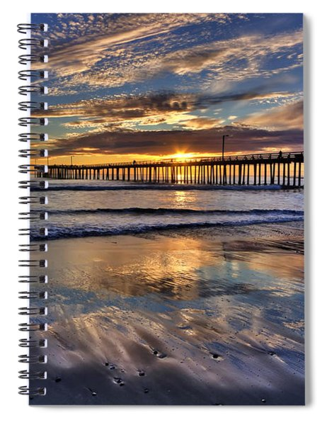 Beautiful Cayucos Spiral Notebook