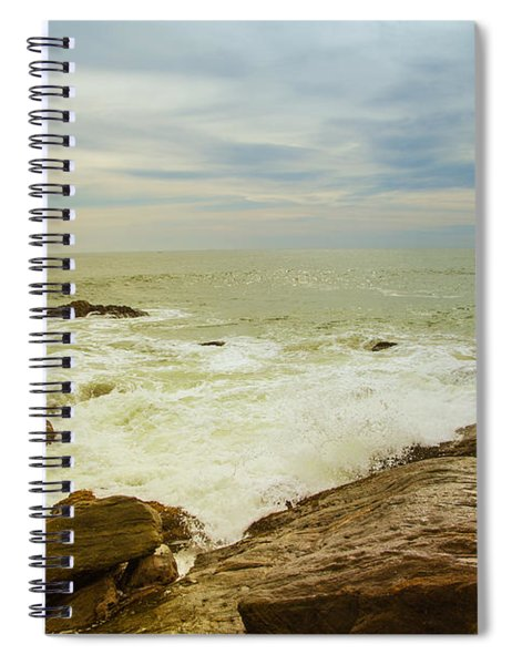 Beautiful Coastal Landscape Spiral Notebook