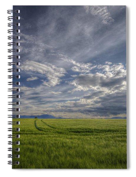 Beautiful Countryside Spiral Notebook
