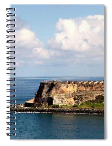 Beautiful El Morro Spiral Notebook