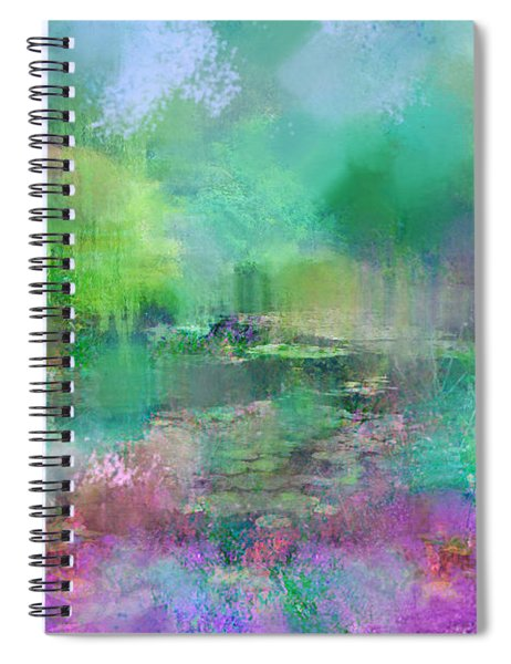 Beautiful Giverny Spiral Notebook