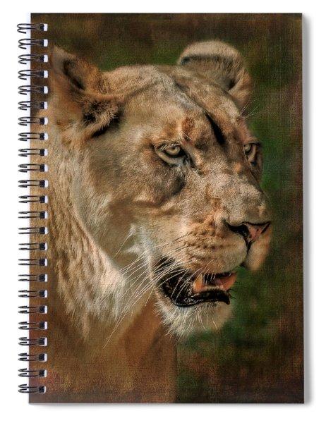 Beautiful Kaya Spiral Notebook