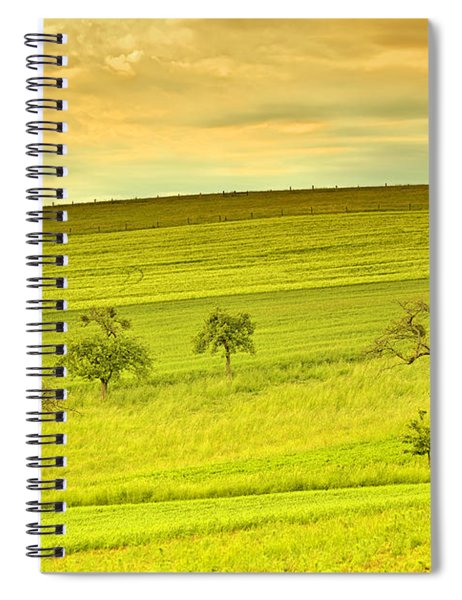 Beautiful Landscape In The Spring Spiral Notebook