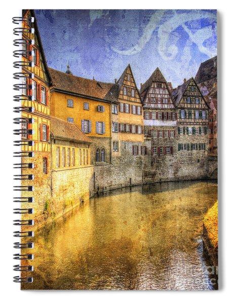 Beautiful Past Spiral Notebook
