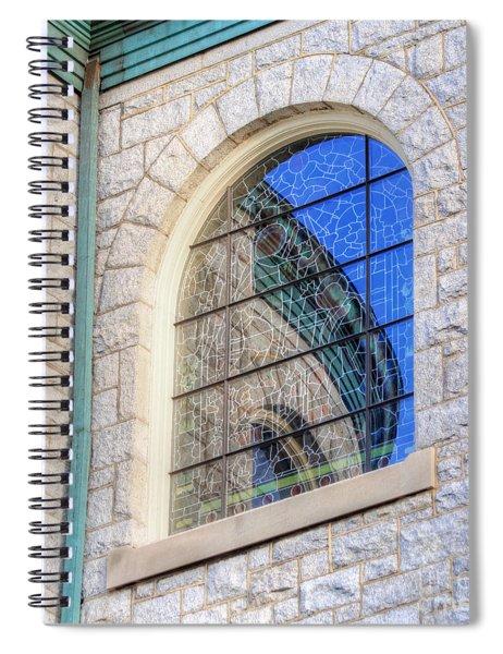 Beautiful Reflection Spiral Notebook