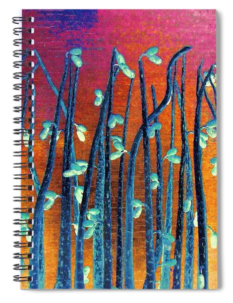 Beautiful Weeds On Venus Spiral Notebook