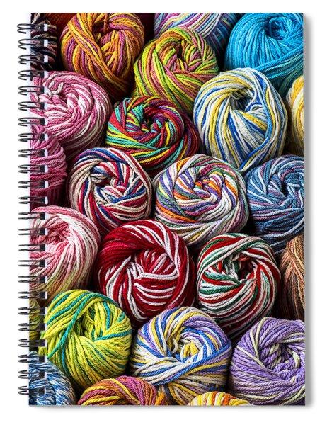 Beautiful Yarn Spiral Notebook