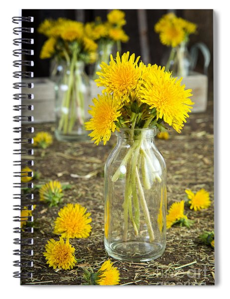 Beauty Among The Weeds Spiral Notebook