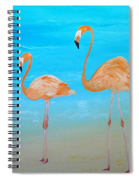 Beauty And Grace Spiral Notebook
