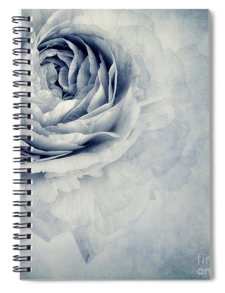 Beauty In Blue Spiral Notebook