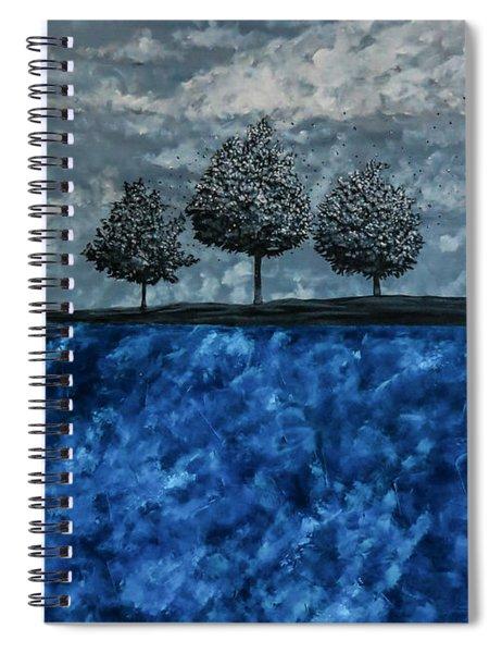 Beauty In The Breakdown Spiral Notebook