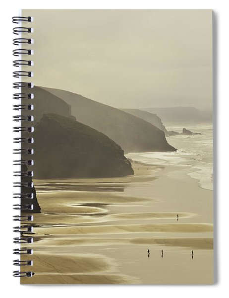 Bedruthan Sands Spiral Notebook