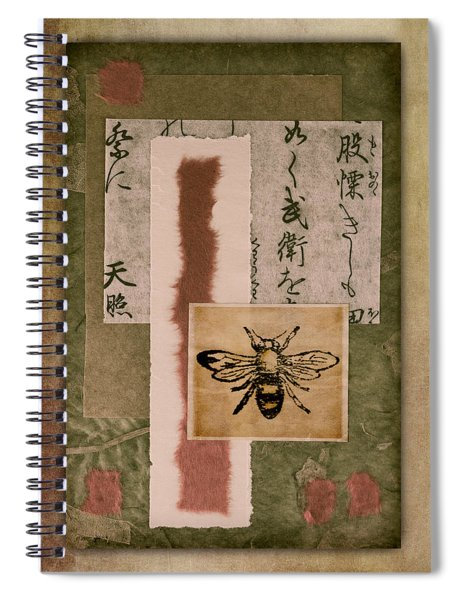 Bee Papers Spiral Notebook