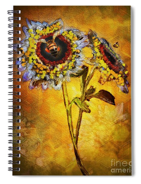 Bees To Honey Spiral Notebook