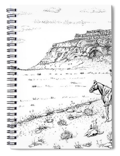 Open Prairie Overlook Spiral Notebook