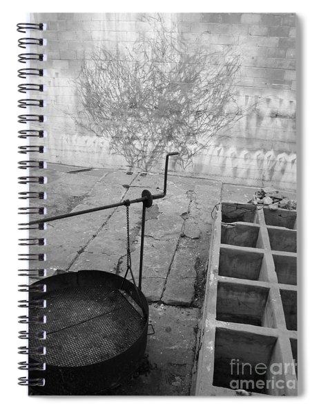 Behind Ricketts' Lab Spiral Notebook