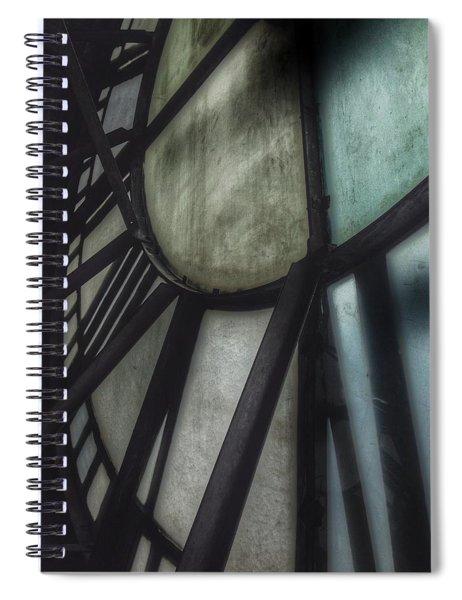 Behind The Clock - Emerson Bromo-seltzer Tower Spiral Notebook