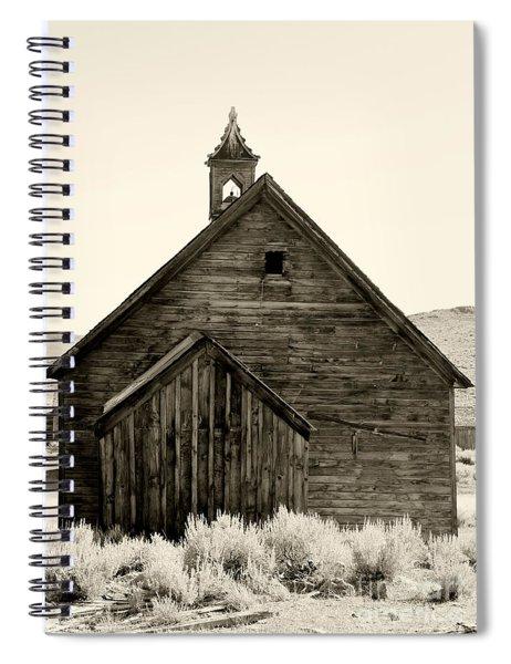 Behind The Steeple By Diana Sainz Spiral Notebook