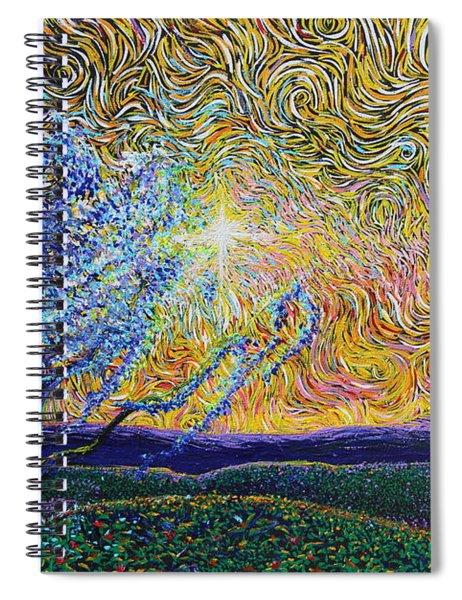 Beholding The Dream Spiral Notebook