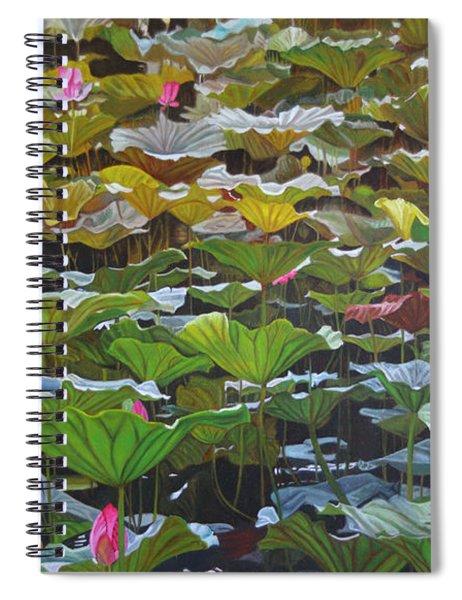 Beijing In August Spiral Notebook