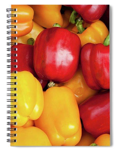 Bell Peppers Spiral Notebook
