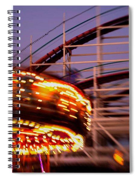 Did I Dream It Belmont Park Rollercoaster Spiral Notebook