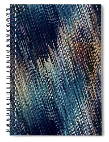 Below Zero Spiral Notebook