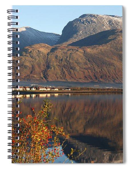 Ben Nevis - Autumn Spiral Notebook