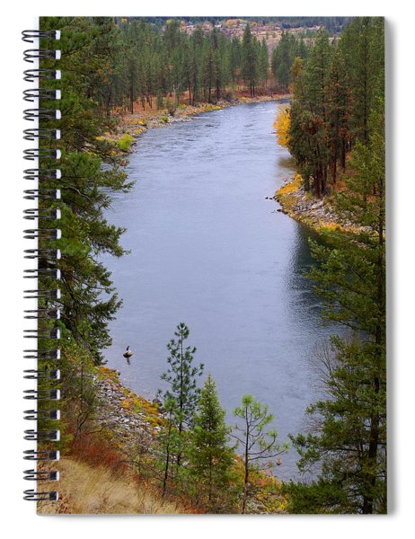 Bend In The River Spiral Notebook
