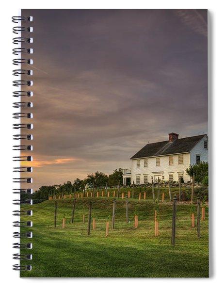 Beneath An Evening Sky Spiral Notebook