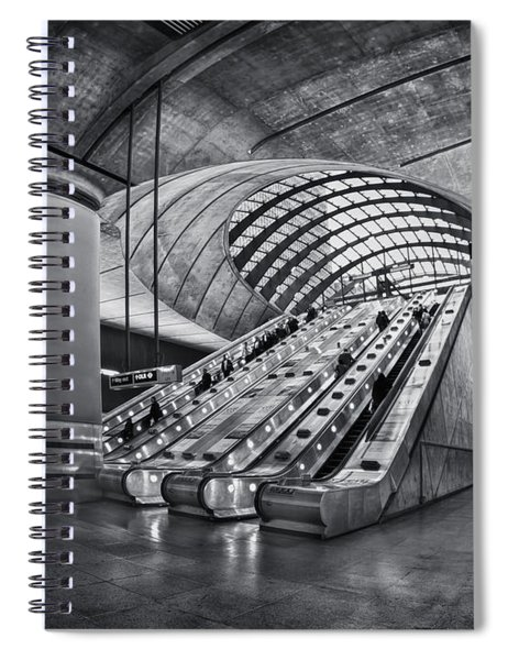 Beneath The Surface Of Reality Spiral Notebook