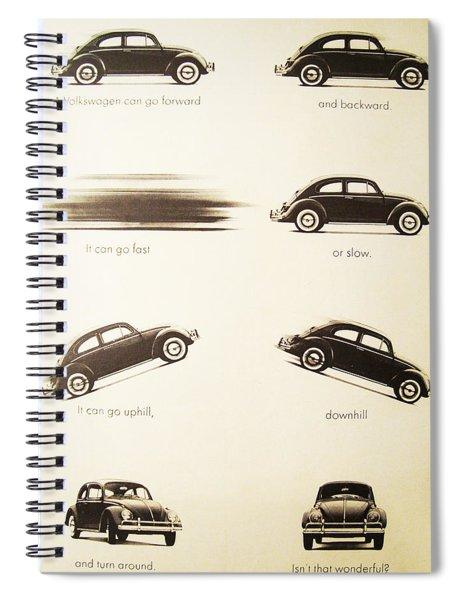 Benefits Of A Volkwagen Spiral Notebook