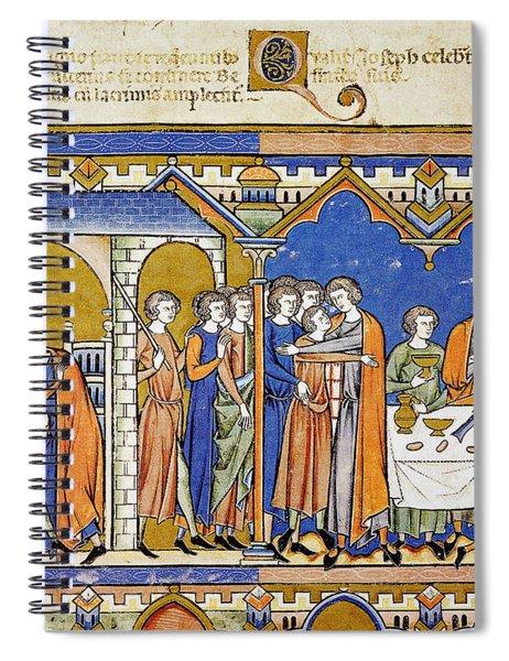 Benjamin And Joseph Spiral Notebook