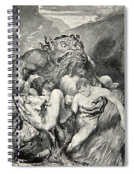 Beowulf Print Spiral Notebook