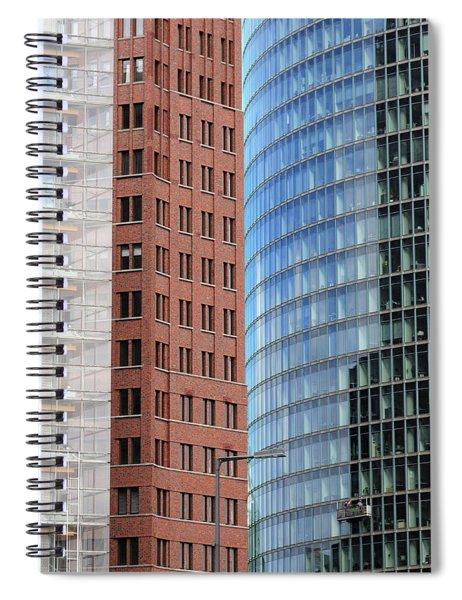 Berlin Buildings Detail Spiral Notebook