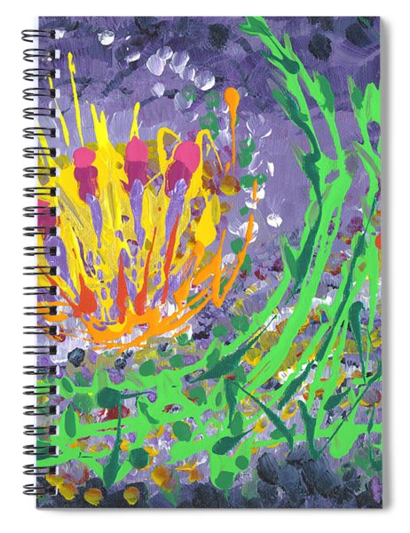 Berries And Brambles Spiral Notebook