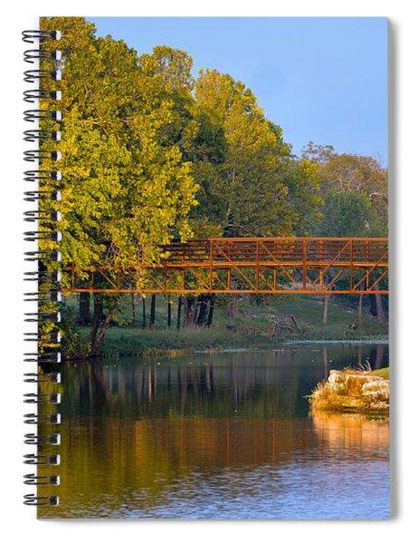Berry Creek Bridge Spiral Notebook