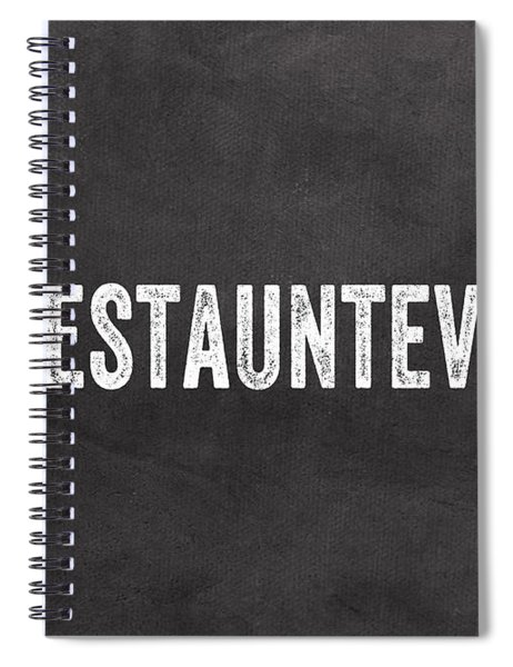 Best Aunt- Greeting Card Spiral Notebook