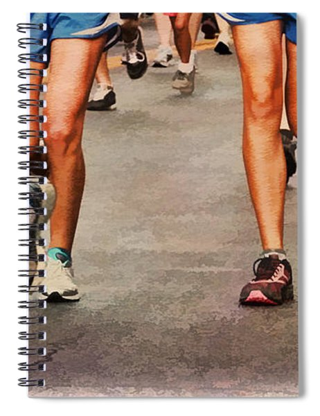 Best Foot Forward Spiral Notebook