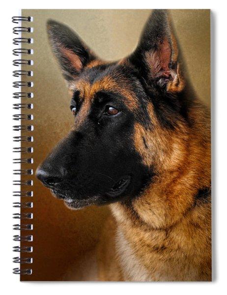 Best In Show - German Shepherd Spiral Notebook