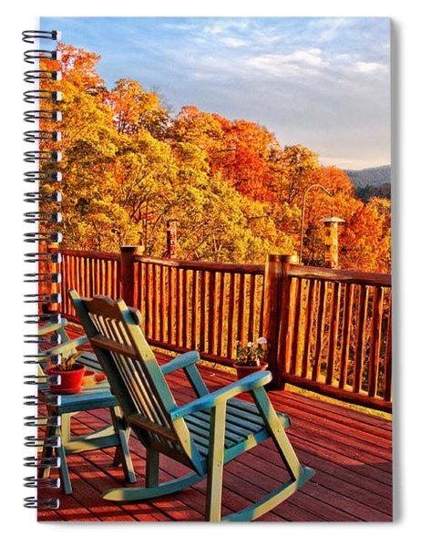 Best View In Town  Spiral Notebook