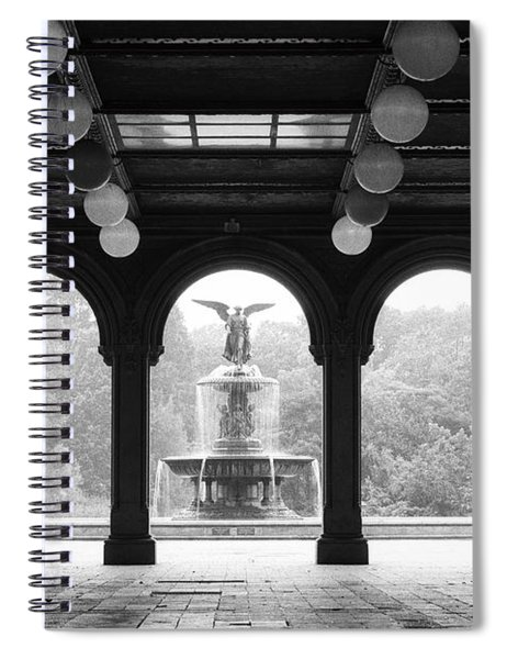 Bethesda Terrace  1990s Spiral Notebook