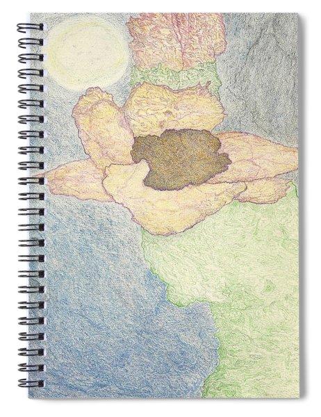 Between Dreams Spiral Notebook