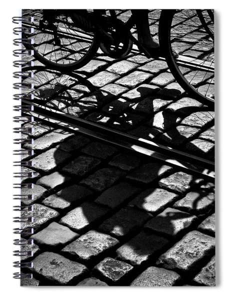 Between The Lines Spiral Notebook