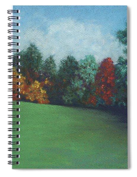 Between The Rainstorms Spiral Notebook