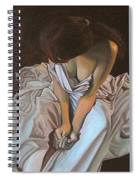 Between The Sheets Spiral Notebook